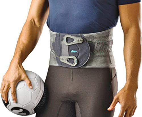 Aspen Elite Active Back Brace, Patented Pulley System for Targeted Compression, Back Braces for Lower Back Pain Relief for Herniated Disc, Sciatica, Scoliosis for Men & Women, Large