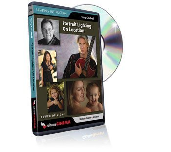 Learning Digital Photography Lighting Techniques Tutorial DVD - Portrait Lighting on Location training video
