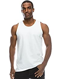 Mens Basic Solid Tank Top Jersey Casual Shirts (Size Upto 3XL, Various Color)