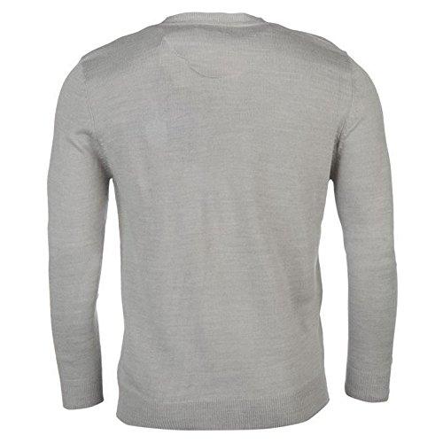 Pierre Cardin Mock y-neck Jumper Herren Pullover Grau Pullover Top