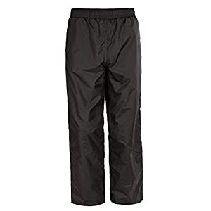 Kids Waterproof RainPant With Hood SWISSWELL Black Size 12