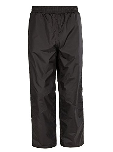 SWISSWELL Boys Rain Pant with Hood Black Size 8