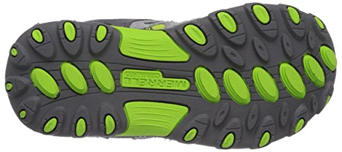 Merrell CHAMELEON LOW LACE WTPF - Botas para niños Multicolor (Grey/Green)