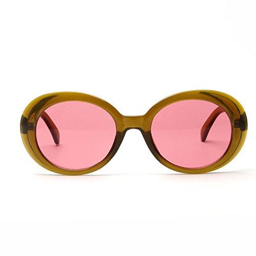 Red de de Vintage Sol Gafas Keepwin Sol UV protección Gafas 5twxX6qHz