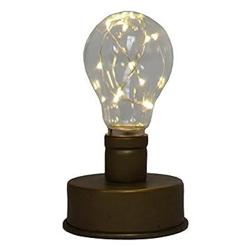 Led Sur À L'originale Pile Socle 15x9 Ampoule Lampe Deco CmAmazon BdxtshQrCo