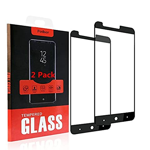 [2 PACK] ZTE Zmax Pro Screen Protector, NOKEA [Tempered Glass] with [9H Hardness] [Crystal Clear] [Easy Bubble-Free Installation] [Scratch Resist] (for ZTE Zmax Pro (Zte Zmax Phone Case Animals)