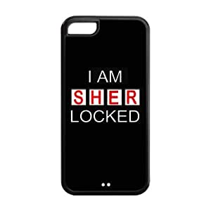 Lmf DIY phone caseROBIN YAM Hard Flexible Rubber Cover Case for iphone 5c, Sherlock Phone Cases -CRY160Lmf DIY phone case