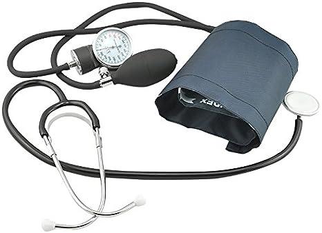 Carejoy precisión manguito de presión arterial Monitor y estetoscopio Set con libre funda de transporte: Amazon.es: Salud y cuidado personal
