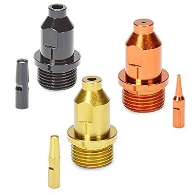 Homeright C900110 Spray Tip Multi Pack for Super Finish Max (Orange, Yellow, Black)