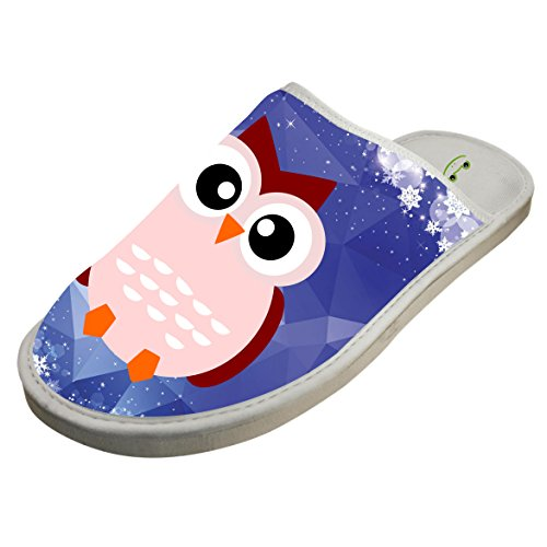 Sleeppers Sandals Macaw Adult Colorful Unisex Winter Bird Warm Flip White10 Flops Slippers Parrot wPYYqFBO