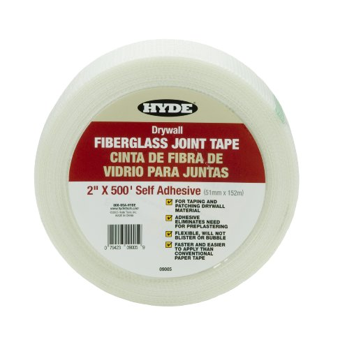 hyde-tools-9005-2-inch-by-500-feet-self-adhesive-fiberglass-joint-tape