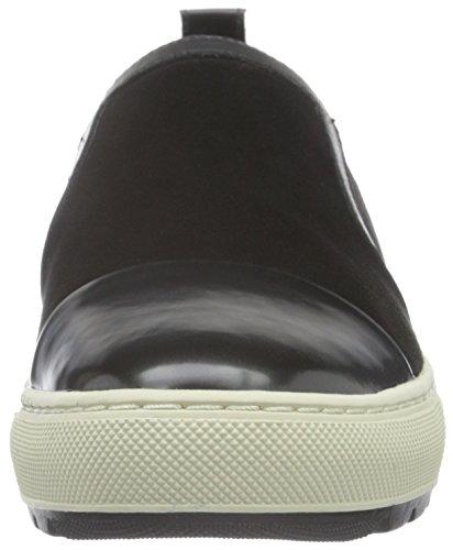 Geox D Breeda a, Zapatillas para Mujer Schwarz (Black/GUNC9B1G)