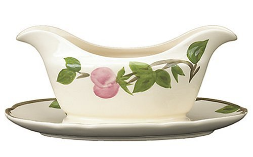 Franciscan Desert Rose Gravy Boat & - Rose Set Desert