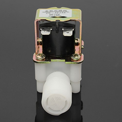 Infiniti A/c Compressor - 12V Electric Solenoid Valve Magnetic DC N/C Water Air Inlet Flow Switch 1/2