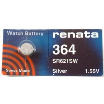 Renata Watch Battery 364 (Sr621Sw) (364 Renata Battery Watch)