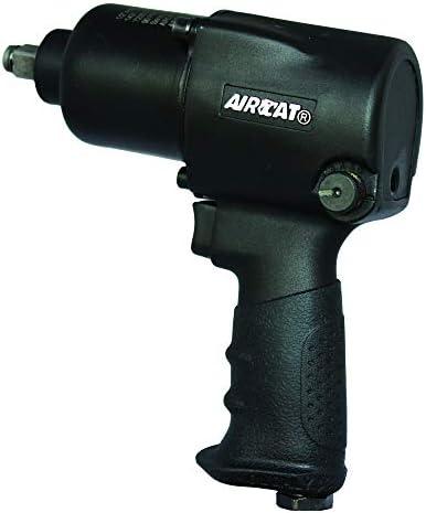 AIRCAT Aircat 1431 1 2 Aluminum Impact Wrench, 1 2 Impact, Black