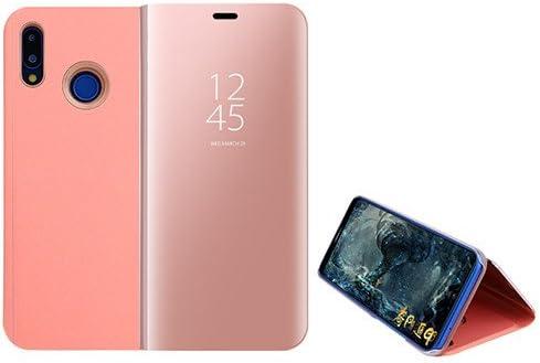 Funda® Espejo Enchapado Flip Xiaomi Mi MAX 3 (Oro Rosa): Amazon.es ...