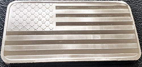 SilverTowne American Flag 10 Oz. Silver ()