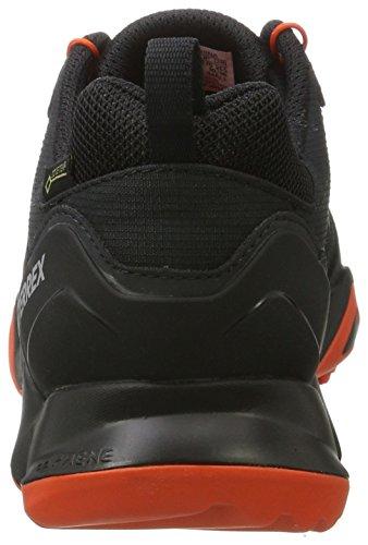 adidas Terrex Swift R GTX, Scarpe da Arrampicata Basse Uomo Nero (Core Black/Core Black/Energy)