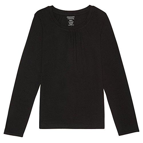 d0940e0c4b2 French Toast Girls  Long Sleeve Crew Neck T-Shirt