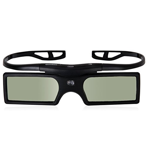 4 x 3D Active Glasses for DLP-Link projector Beamer OPTOMA GT750 GT360 HD20 HD21 HD33 HD83 HD87 HD300X TX762 TW615 Benq Viewsonic Acer Dell Vivitek Sharp NEC