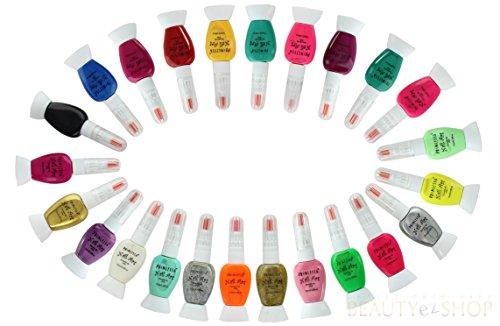 ETA Nail Art Decoration Nail Art Brushes Nail Art Pen Liner Detailer Princessa Set of 24