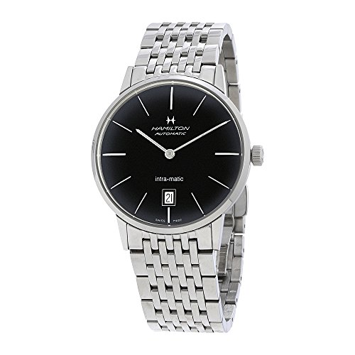Hamilton Intra-Matic汉密尔顿 Automatic Black Dial Mens Watch