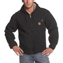 Carhartt Men's Big & Tall Sierra Jacket Sherpa Lined Sandstone