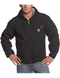 Carhartt mens Big & Tall Sherpa Lined Sandstone Sierra Jacket J141