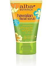 Alba Botanica Hawaiian Facial Scrub, Pore Purifying Pineapple Enzyme, 4 Oz