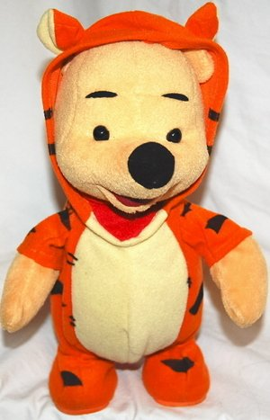 Talking Bouncing Winnie the Pooh Dressed as Tigger