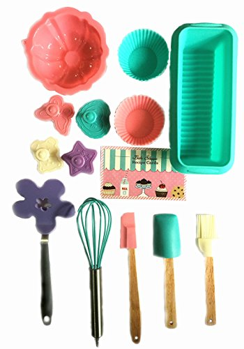 Bake Shoppe 25-piece Deluxe Baking Set for Kids by Goodview