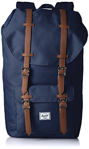 Herschel Little America Backpack-Navy