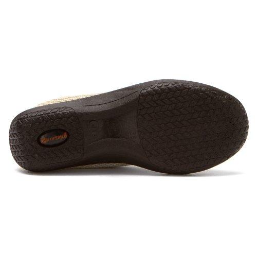 Arcopedico Dames Es Slip Op Loafers Schoenen Beige
