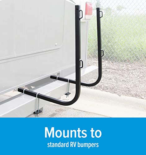 Camco Rhino Bumper Mount RV Tote Tank Carrier – Mounts Directly onto Your RV Bumper to Secure Your Rhino Tote Tank in Place During Travel ; Fits All Tote Tank Sizes : 15, 21, 28, & 36 Gallon (39010)