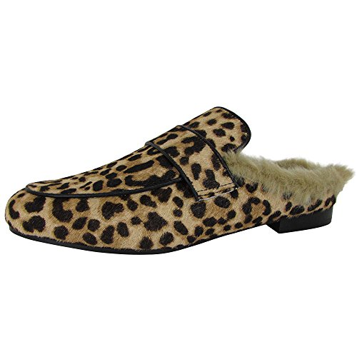 Steve Madden Women's Kaden-L Loafer Flat, Leopard, 6 M US - Kaden Flat