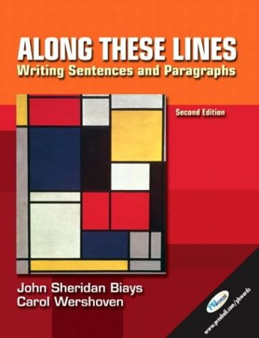 Along These Lines: Writing Sentences and Paragraphs, Second Edition