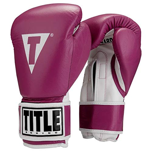 TITLE Boxing Pro Style Leather Training Gloves — Best Budget Gloves For Beginners