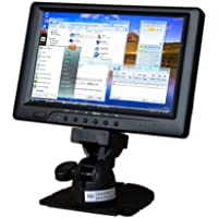 Sunlight Readable Lilliput 7 669gl-70np/c Vga Monitor W/dvi and Hdmi Input(non-touch Screen)+HOT SHOE MOUNT+BATTERY