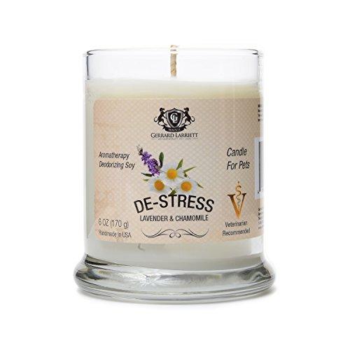 Lavender & Chamomile Aromatherapy Deodorizing Soy Candle