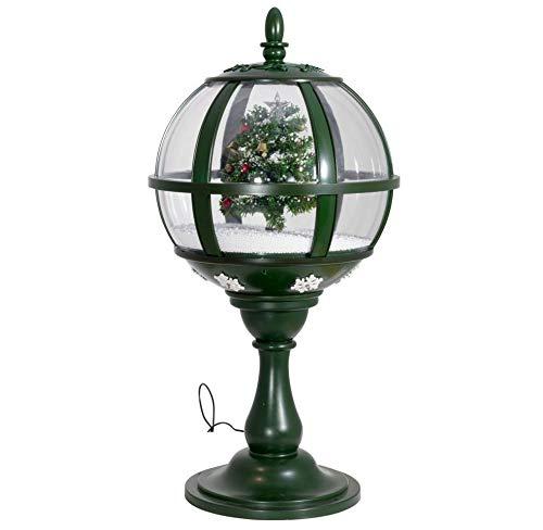 PM Schneiende LED-Tischlaterne Baum 60 cm Weihnachtsdekoration, grün