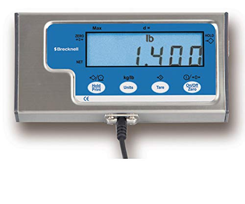 - Brecknell SBI140 Digital LCD Indicator / Scale Readout / Display, Head for Load Cell Floor Truck Pallet Bench Hopper Tank Scale