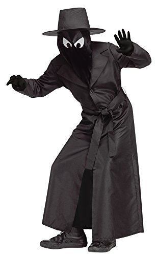 Fun World Big Boy's Spy Guy Child Costume Childrens Costume, Black, Small ()