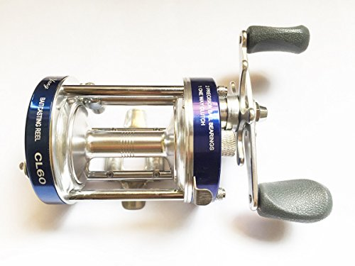 Mingyang CL60 Baitcasting Fishing Reels Fishing Tackle 2+1 BB Right handed Gear Ratio 4.2:1 Blue