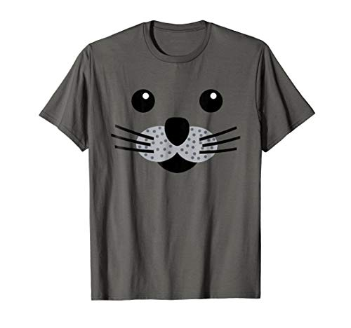 Seal Sea Lion Funny Animal Halloween Costume T-Shirt Gift -