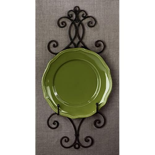 Chelsea Collection Wall Rack for Plates and Artwork 22.25\ H  sc 1 st  Amazon.com & Decorative Plate Racks: Amazon.com