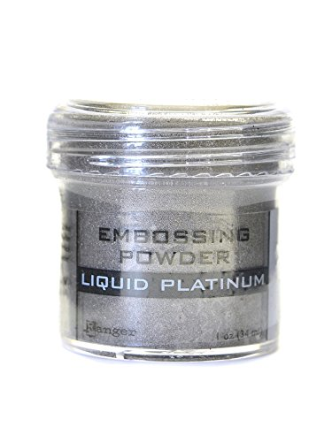 Ranger Specialty Embossing Powders liquid platinum 1 oz. jar [PACK OF 3 ]