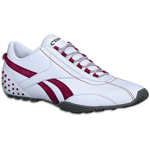 Mile Shoe Cranberry Leather Nautical Reebok Fusion Classic Sheer T Women's Grey HqEwxap0