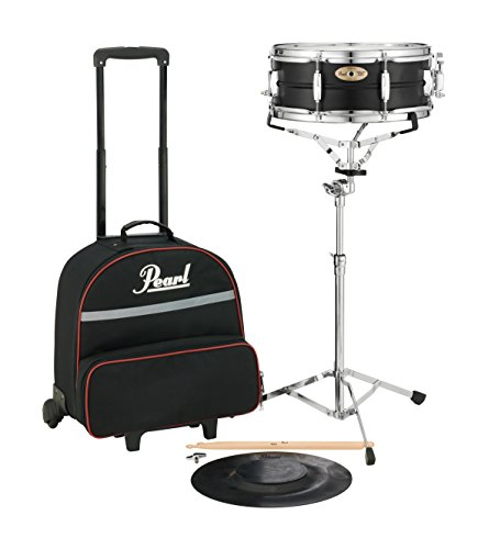 Rolling Drum Kit - Pearl Snare Kit, w/SKBC9 Nylon Backpack-style Carrying Case w/Wheels (SK910C)