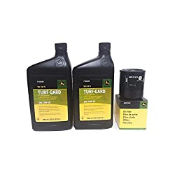 2 Quarts John Deere Turf-Gard SAE 10W-30 Oil Plus